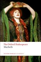 The Oxford Shakespeare  The Tragedy of Macbeth PDF