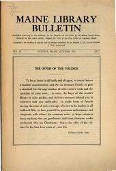 Bulletin: Volume 11