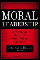 Moral Leadership PDF