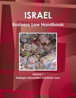 Israel Business Law Handbook Volume 1 Strategic Information and Basic Laws PDF