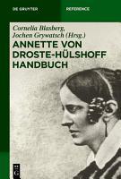 Annette von Droste H  lshoff Handbuch PDF