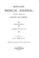 Maryland Medical Journal PDF