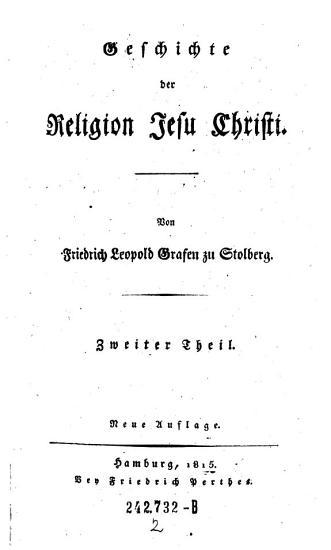 Geschichte der Religion Jesu Christi PDF