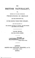 The British Naturalist  Or  Sketches of the More Interesting Productions of Britain and the Surrounding Sea PDF