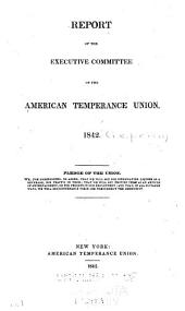 Annual Report - American Temperance Union