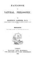 Handbook of Natural Philosophy     Mechanics PDF