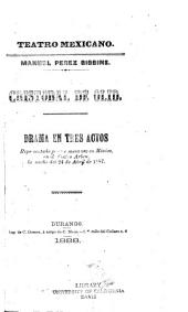 Cristóbal de Olid: drama en tres actos