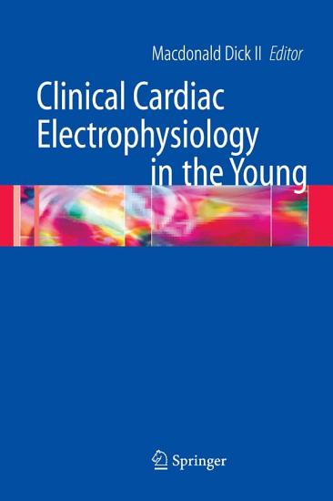 Clinical Cardiac Electrophysiology in the Young PDF