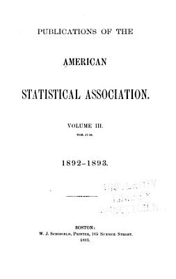 Publications of the American Statistical Association PDF