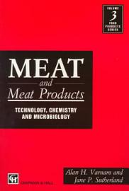 Meat And Meat Products  Technology  Chemistry And Microbiology