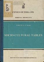 Census of India, 1991: West Garo Hills