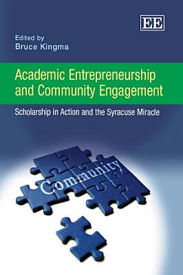 Academic Entrepreneurship and Community Engagement PDF