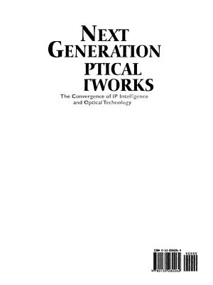 Next Generation Optical Networks