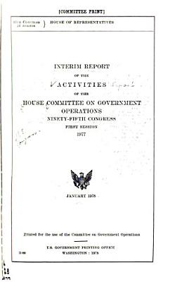 Activities of the House Committee on Government Operations