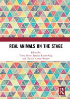 Real Animals on the Stage PDF