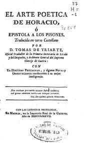 El arte poetica de Horacio o Epistola a los Pisones