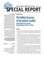 Political Economy of the Kashmir Conflict PDF