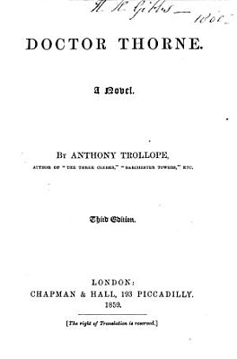 Doctor Thorne PDF