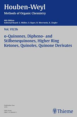 Houben Weyl Methods of Organic Chemistry Vol  VII 3b  4th Edition PDF
