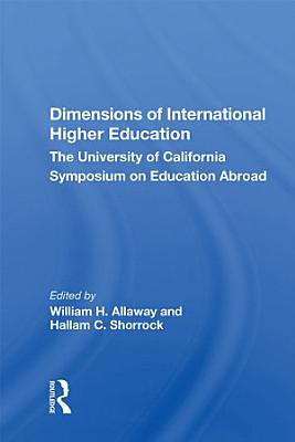 Dimensions Of International Higher Education PDF