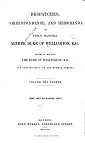 Despatches, Correspondence, and Memoranda of Field Marshal Arthur, Duke of Wellington, K. G.: 1827-1828