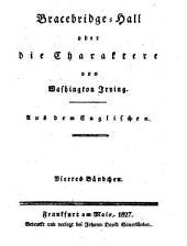 Washington Irving's sämmtliche Werke: Bände 16-19