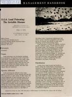 Waterfowl Management Handbook PDF
