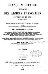 France militaire: histoire des armées françaises de terre et de mer de 1792 à 1833