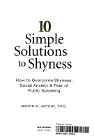 10 Simple Solutions to Shyness PDF