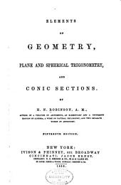 Elements of geometry: plane and spherical trigonometry, and conic sections