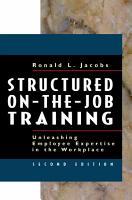 Structured On the job Training PDF