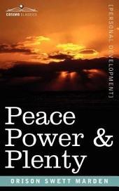 Peace Power & Plenty