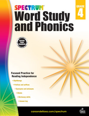 Spectrum Word Study and Phonics  Grade 4
