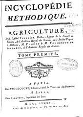 Encyclopédie méthodique: Agriculture, Volume1