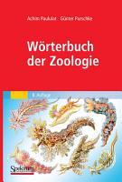 W  rterbuch der Zoologie PDF