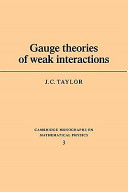 Gauge Theories of Weak Interactions PDF