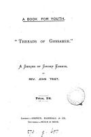 Threads of gossamer   short essays PDF