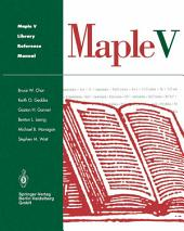 Maple V Library Reference Manual