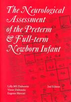 The Neurological Assessment of the Preterm and Full term Newborn Infant PDF