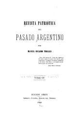 Revista patriótica del pasado argentino: Volumen 4