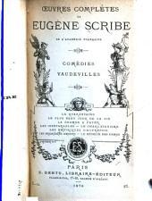 Œuvres complètes de Eugène Scribe: Volumes23à24