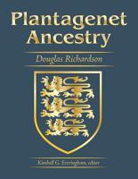Plantagenet Ancestry  A Study In Colonial And Medieval Families  2nd Edition  2011 PDF