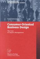 Consumer-Oriented Business Design