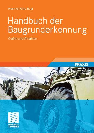 Handbuch der Baugrunderkennung PDF
