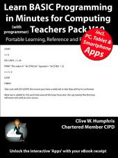 Learn BASIC Programming in Minutes for Computing Teachers Pack V10