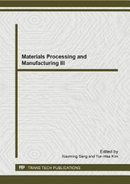 Materials Processing and Manufacturing III