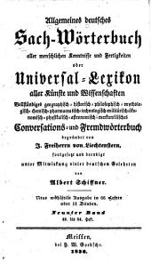 Allgemeines deutsches Sach-Wörterbuch aller menschlichen Kenntnisse und Fertigkeiten: oder, Universal-Lexikon aller Künste und Wissenschaften, Band 9