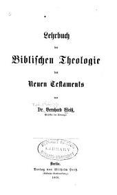 Lehrbuch der biblischen Theologie des Neuen Testaments