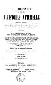 Dictionnaire universel d'histoire naturelle: Volume10