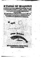 Summa der Prognostico del Cometa y de la Eclipse PDF